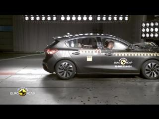 Euro NCAP краш-тест Ford Focus