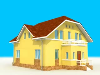 Один из вариантов сухого строительства дома