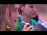 Анастасия Филиппова на форуме Россия - страна возможностей