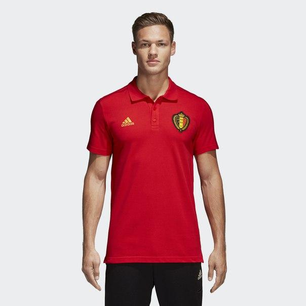 Футболка-поло Бельгия 3-Stripes