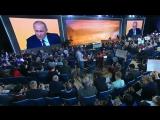 ПУТИН - Я хочу чтоб они это слышали !!! Спасибо Лётчикам Сирийского ЭСКОРТА ПРЕЗИДЕНТА !!! Большая пресс-конференция  2017