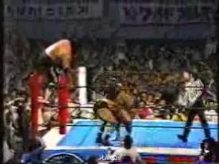 Masa Saito, Riki Choshu vs. Tatsumi Fujinami, Kengo Kimura (1984 - Fukuoka)