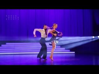 Pavel Zvychaynyy - Oxana Lebedew - Rumba Show