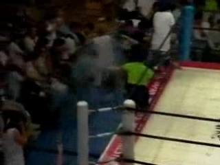 1. Mr. Buttaman vs. Tsunokake (AJW 7.4.1993)