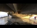 17 03 18 г Экспозиция под мостом Лёд мощный