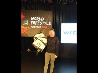 DAZN World Freestyle Masters - top8 Lilia vs Lucia