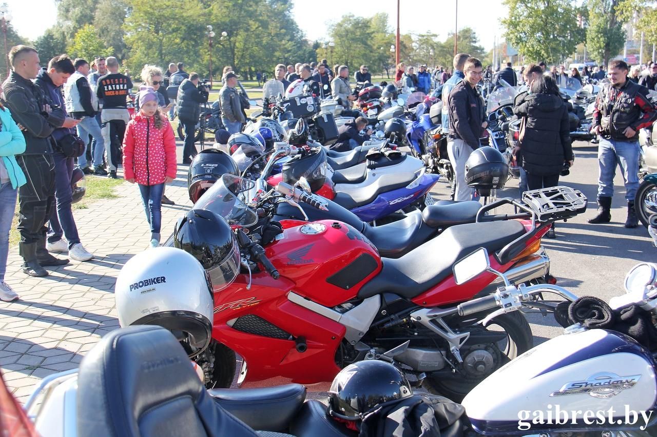ГАИ с мотоциклистами провела профилактическую акцию «За безопасность дорожного движения!»