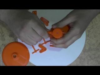ZikValera 3D printer Anet A8 Строит настольную лампу