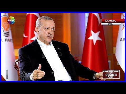 Cumhurbaşkanı Erdoğan Habertürk ve Show Tvde Gündemi Değerlendirdi 28 Mayıs 2018