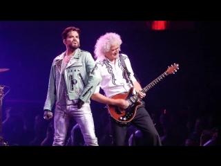 Queen and Adam Lambert Crazy Little Thing Called Love Vegas 19-9-2018