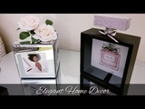 DIY ELEGANT HOME DECOR GREAT DECOR FOR ANY BEDROOM, GUEST ROOM, VANITY, VERY GIRLY