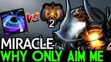 Miracle- Clinkz VS Solo BlackHole! Why Only Aim Me! 7.19 Dota 2