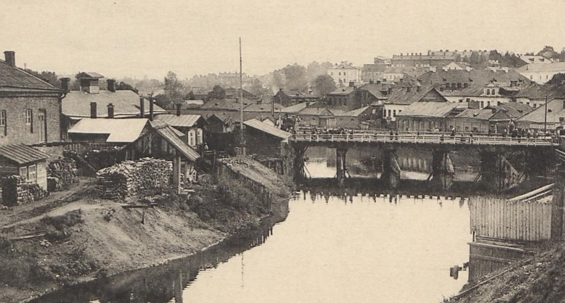 Минск и река Свислочь