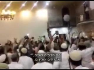 Lors d'un mariage, des extrémistes juifs les sionistes véreux ont fêté la mort d'un bébé #Ali Dawabsha brûlé vif en Cisjordanie