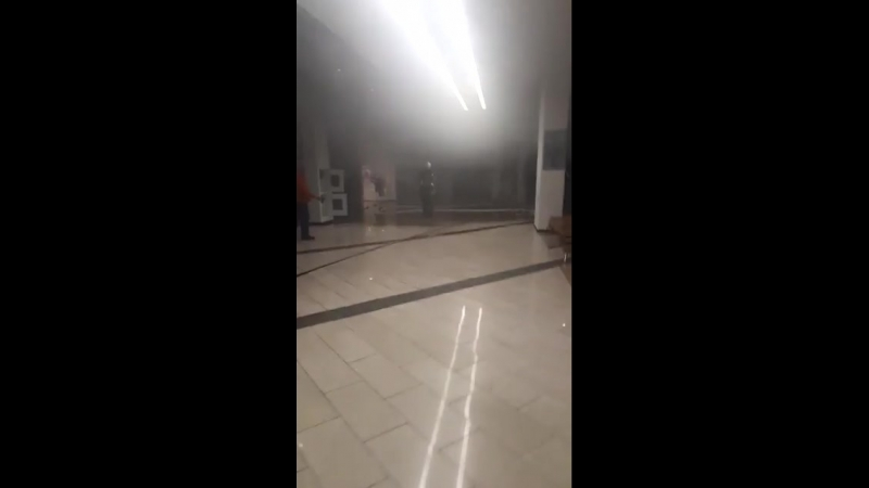 Сгорел ресторан Марко поло в галереи Арт