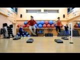 fitnessMary Фрагмент высокоинтенсивной интервальной тренировки (фрагмент 2)