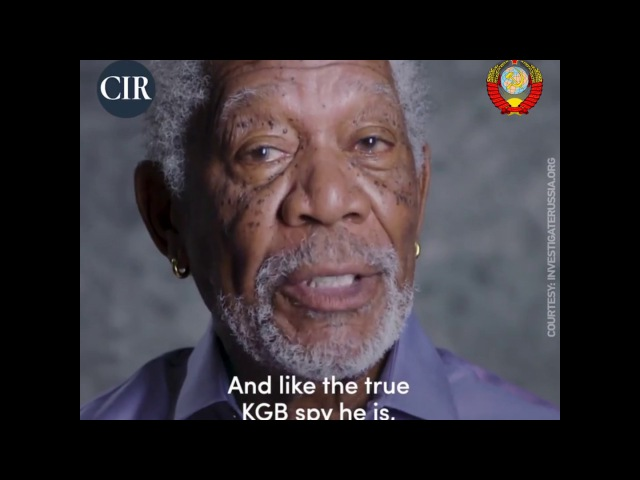 'Committee to Investigate Russia' weaponizes Morgan Freeman in latest anti-Moscow hysteria