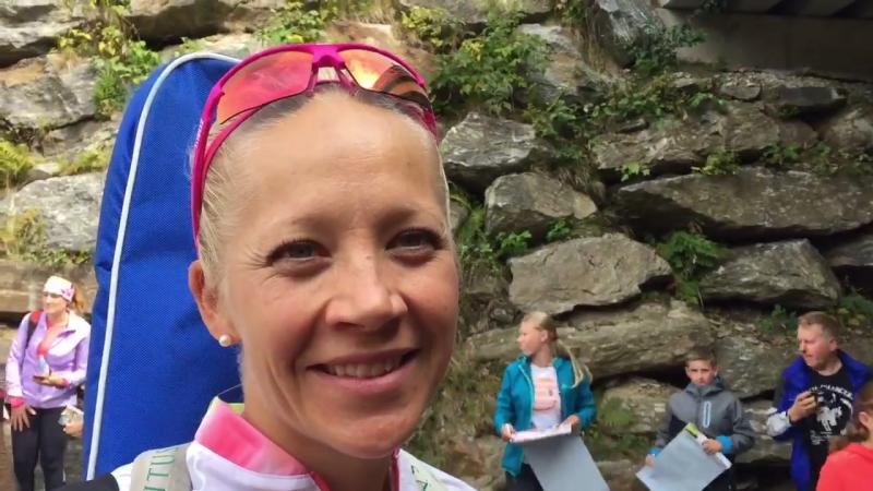 Kaisa Mäkäräinen: interview after 7.5km sprint race at the German summer biathlon national championships