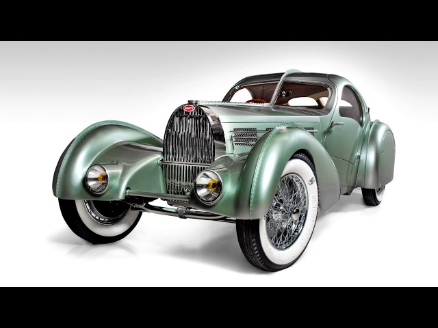 Bugatti Aerolithe Prototype Recreation 2013