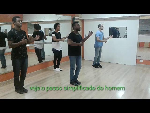 Tirada de perna e escovinha Samba Gafieira