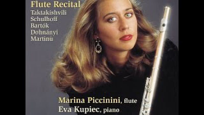 Marina Piccinini - Otar Taktakishvili: Sonata for Flute Piano in C Major