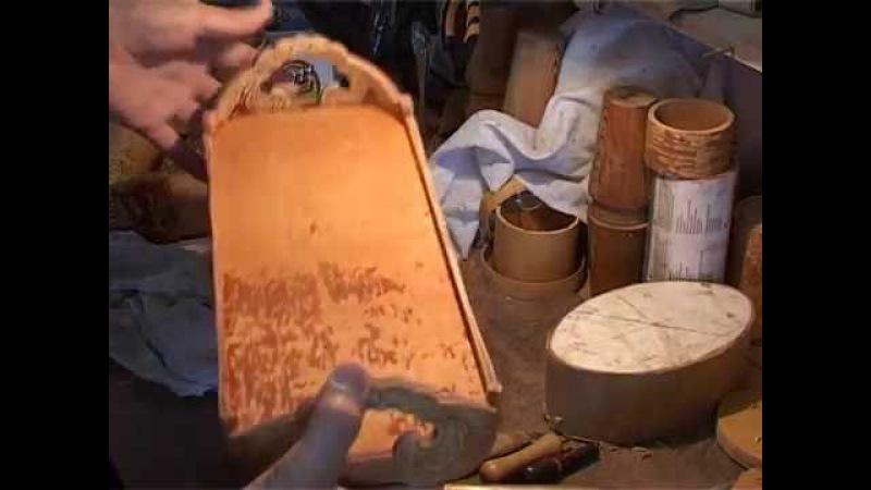Поднос из бересты для Квасника сделано в Честе