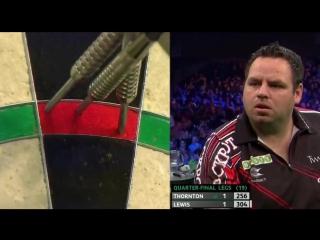 Adrian Lewis vs Robert Thornton (PDC Unibet Masters 2017 / Quarter Final)