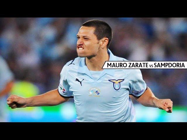 Mauro Zarate vs Sampdoria - Finale Coppa Italia - [13/05/09]