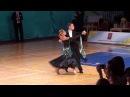 Dmitry Ronzhin - Polina Artsibasheva , Tango WDSF Open Youth Standard Moskvich 2017