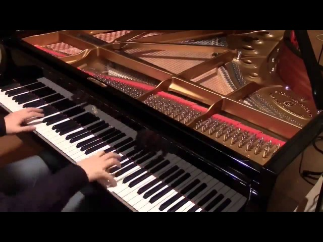 Токийский Гуль - Шикарная игра на клавишных
