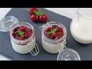 Creamy Yogurt Cherry Panna Cotta Recipe | How Tasty Channel