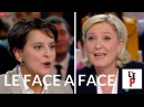 Face-à-face Marine Le Pen / Najat Vallaud-B. - LEmission politique le 10 février 2017 France 2