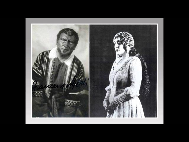 CLAUDIA MUZIO e FRANCESCO MERLI Otello Dio ti giocondi o sposo 1935