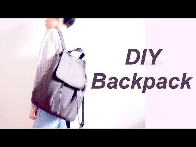 DIY Backpack リュックサック / バックパックの作り方 / 手作教學 / Costura / Sewing Tutorialㅣmadebyaya