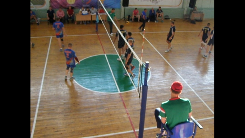 4Сельские игры-2017 г.Заинск .Волейбол 27.08