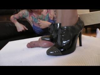 Cbt ball crush / foot fetish