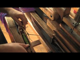 Winding a Pirn  - 6 of 7