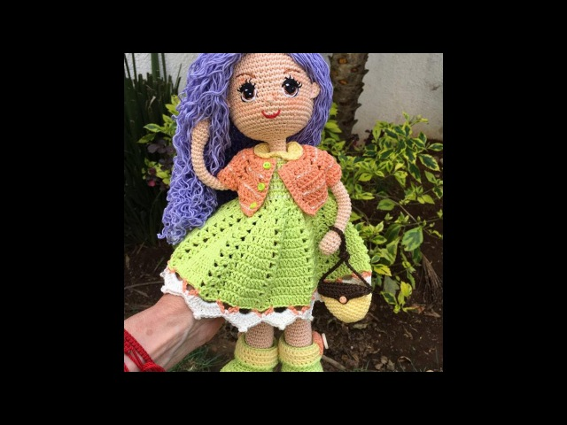 Como tejer botas muñeca Carolina By Petus SEGUNDA PARTE 2 8