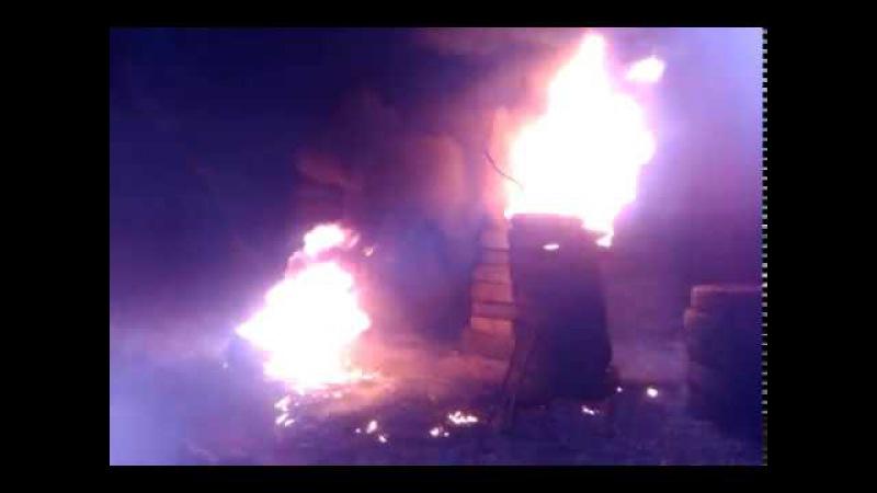 Традиція спалювання шин