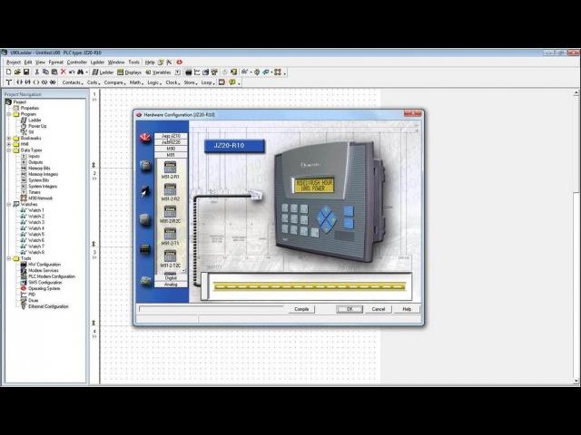 OPLC Jazz JZ20 бюджетные промышленные контроллеры от Unitronics