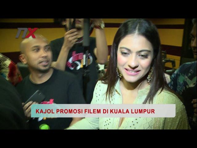 Demam Bollywood Melanda Bila Kajol Datang Promote Filem Di Kuala Lumpur