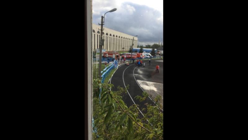 Соревнования по пожарно-прикладному спорту СУ ФПС 50 МЧС РФ