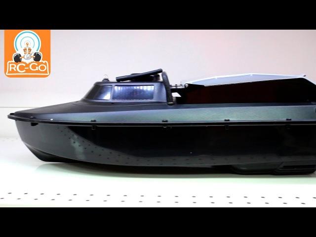 Радиоуправляемый катер JABO-2AL-10 с кормушкой для рыб