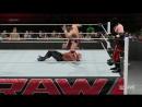 WWE raw (турнамент за тэг тим чемпионство) часть1