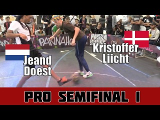 Jeand Doest vs Kristoffer Liicht   Semifinal 1, Pannahouse Invitationals 2017