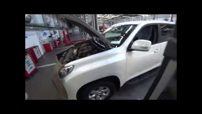 Тойота Центр Люберцы LC150 ТО 30000км доп работы