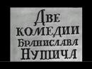 Два вора. Насморк. Две комедии Бранислава Нушича. Театр сатиры (1969)