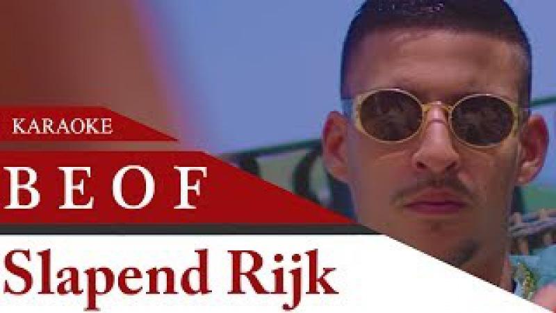 BOEF Slapend Rijk feat Sevn Alias Karaoke Version Instrumental