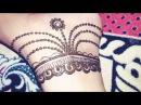 Jewellery style foot mehndi design for beginners 2017