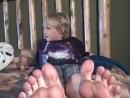 Matthews feet. it's ready for Iicking!